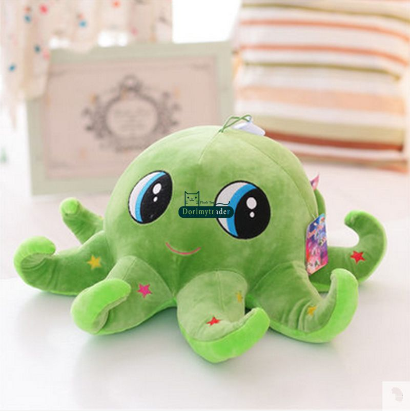 Animal Octopus Toy Giant Stuffed Soft Plush Cartoon Octopus Doll Gift