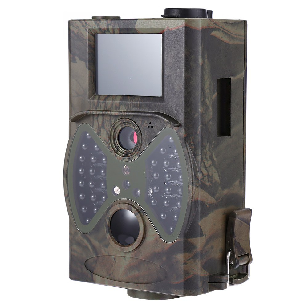 Hot 12MP Hunting Cameras Scouting Digital  Wildlife Camera Infrared Trail HC - 300A Trap Game Cameras NO Glow Night Vision