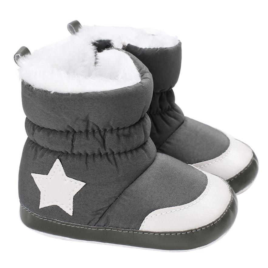 BMF TELOTUNY Fashion Baby Girl Boy Soft Booties Snow Boots Infant Toddler Newborn Warming Shoes First Walkers Apr26 Drop Ship