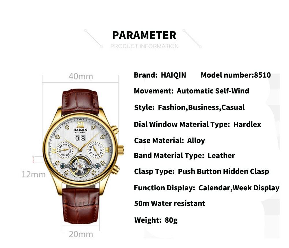 HTB14kJjXLvsK1Rjy0Fiq6zwtXXam HAIQIN Men's watches Automatic mechanical Men Watches Business Watch men top brand luxury Military Waterproof Tourbillon Clock