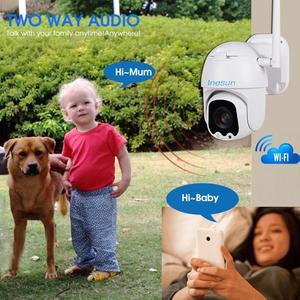 Image 4 - Inesun Ptz 無線 Lan カメラ屋外 2MP HD 1080P セキュリティ IP カメラ WiFi 4X ズーム PTZ カメラ双方向オーディオ 165ft ナイトビジョン最大 128 グラム