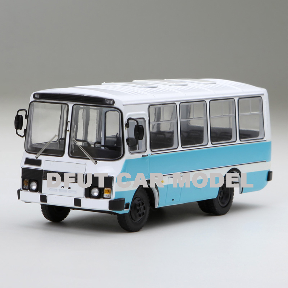 1:43 PAZ 3205 Buses  Alloy Toy Car Model Of Children's Toy Cars Original Authorized Authentic Kids Toys Gift Free Shipping