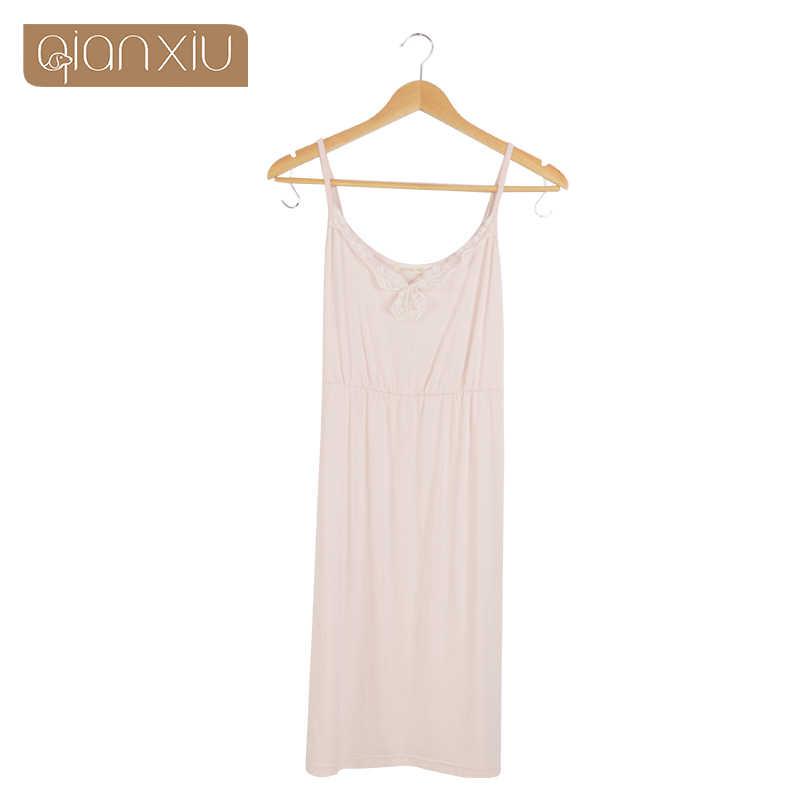 Qianxiu Nachthemd Für Frauen Sling Spitze Sleepskirts Heißer Verkauf Nette Nachthemd Komfortable 1747