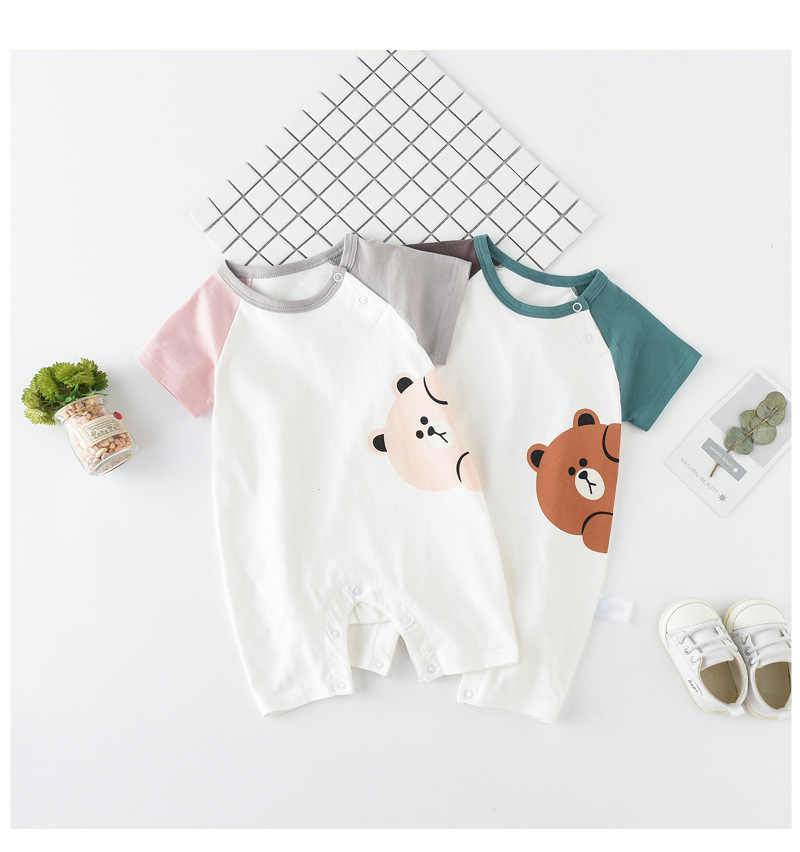 8474e643b Detail Feedback Questions about Newborn baby cotton rompers Summer ...