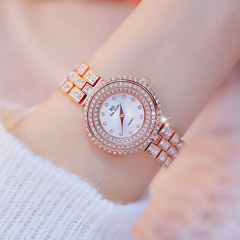 New Design 32mm Luxury Diamond Dial Women Watches Lady's Elegant Dress Watch Girl Fashion Casual Quartz Watches Montre Femme 4