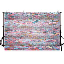 newborn baby photography backdrops background 7x5 retro brick wall kids customized 7x5ft shower props