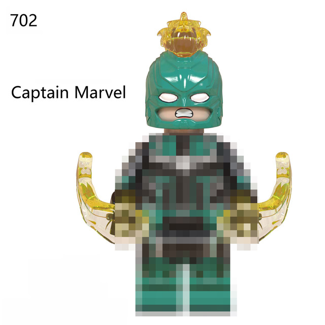 For Hot Sale Captain America Marvel Avengers Endgaan Figures Thanos Thor Pepper Building Blocks Toys Bricks