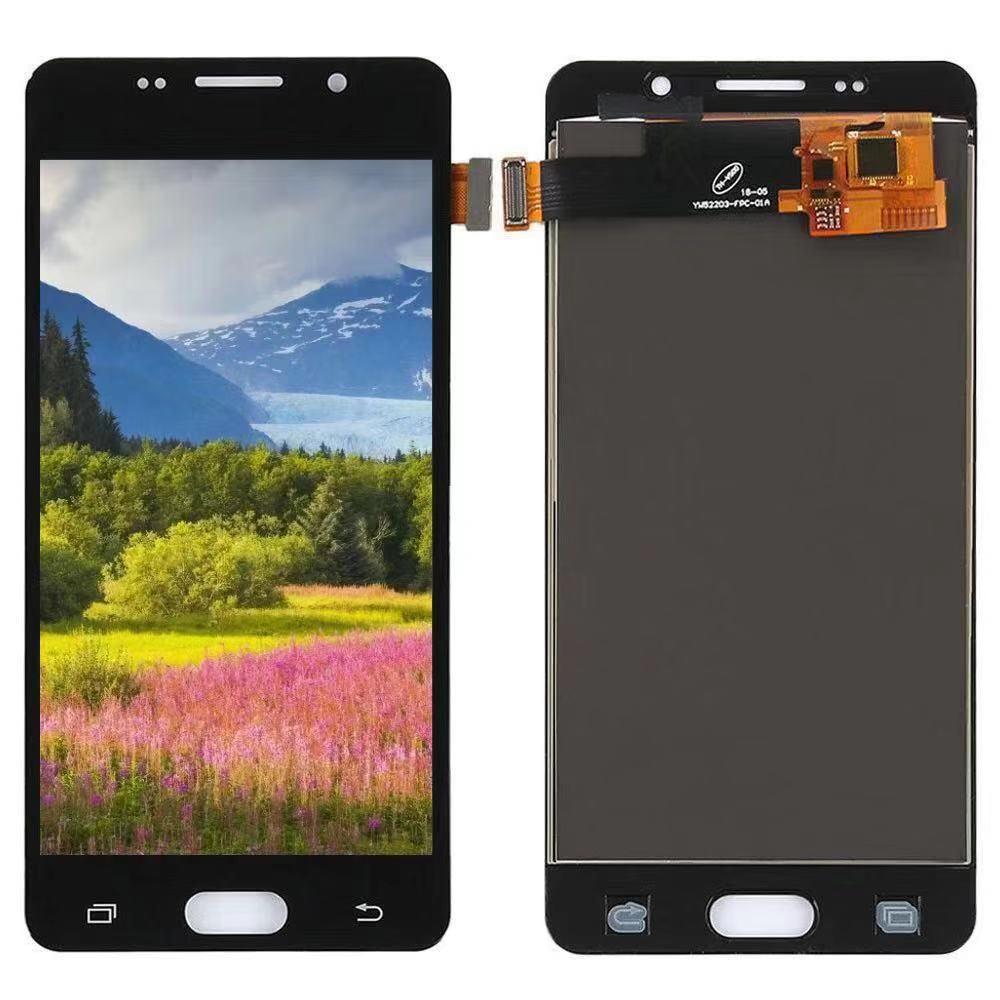 100% test Pour Samsung Galaxy A5 2016 A510 A510F A510M SM-A510F LCD Affichage Écran Tactile Digitizer Avec Cadre (Unique carte SIM)