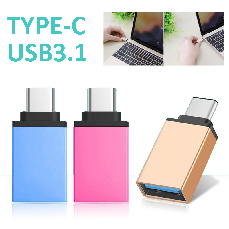 Etmakit Type C To USB 3.1 Adapter Converter 5Gbps Portable For Mobile Phone Keyboard Gamepad NK-Shopping