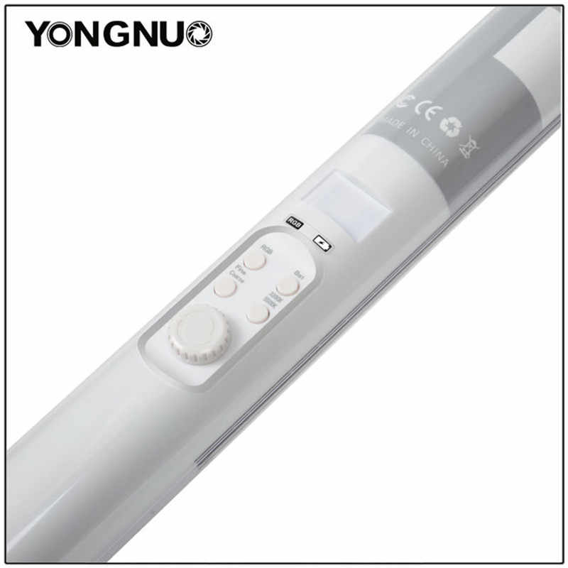 Yongnuo YN360 YN360 II el dondurma çubuğu LED Video ışığı dahili pil 3200k 5500k RGB renkli telefon App tarafından kontrol