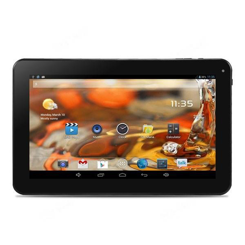 "Free Shipping OEM ODM tablets pc 10.1"" inch HD Screen Android 4.2.2 Qual-Core Tablet PC w/ WiFi (1GB + 8GB) tablet pc(China)"