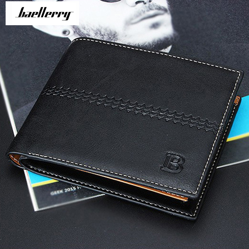 Baellerry Newest Wallets Portefeuille Homme Card Holder Coin Pocket Cuzdan Rfid Male Cuzdan Purse Clutch MiniShort Short Purse baellerry man wallets portefeuille homme card holder coin pocket cuzdan rfid male cuzdan purse clutch short purse with 6 styles