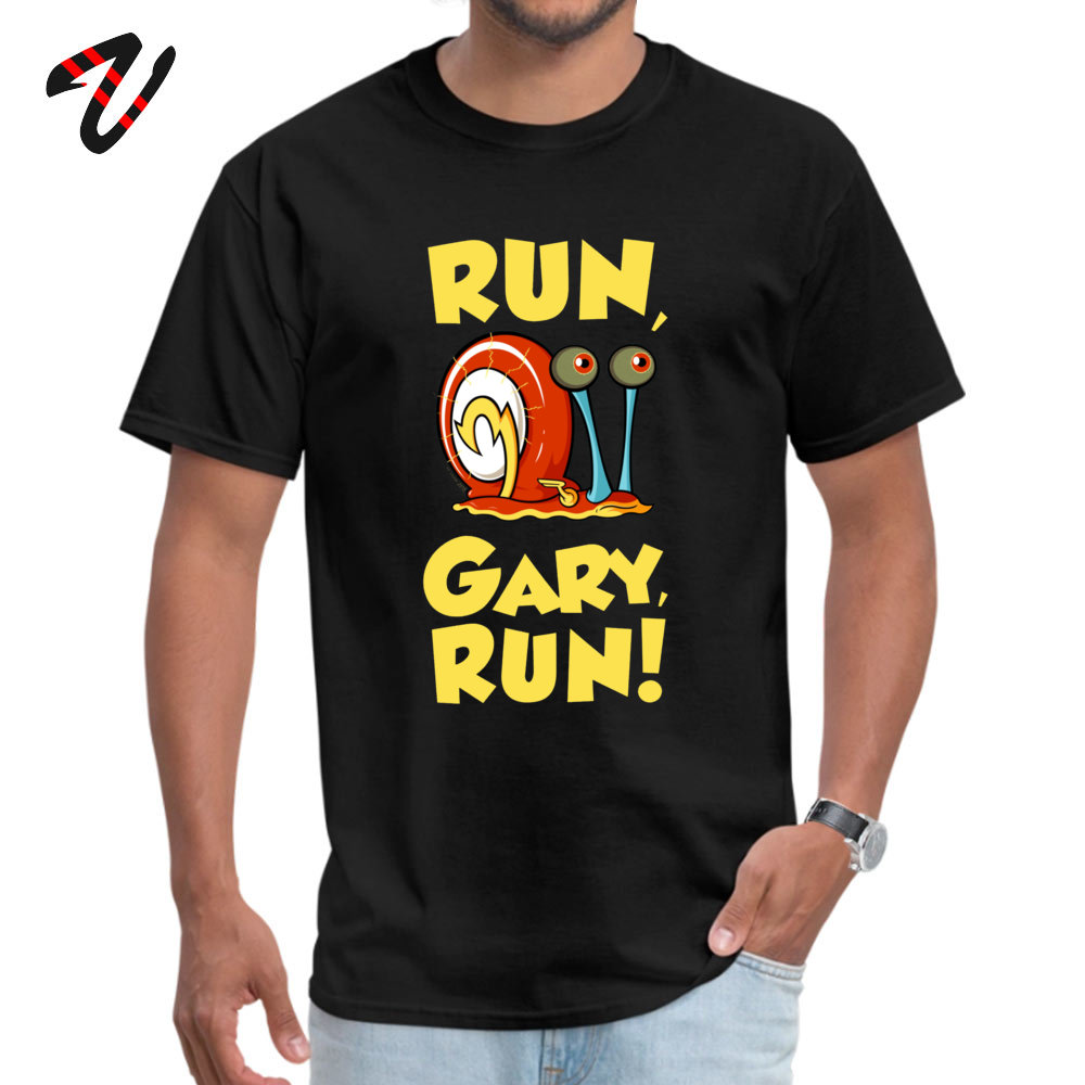 Run Gary RUN T Shirt Latest Round Collar Design New Zealand Sleeve The Cure Fabric Male Shirts Hip hop Tops