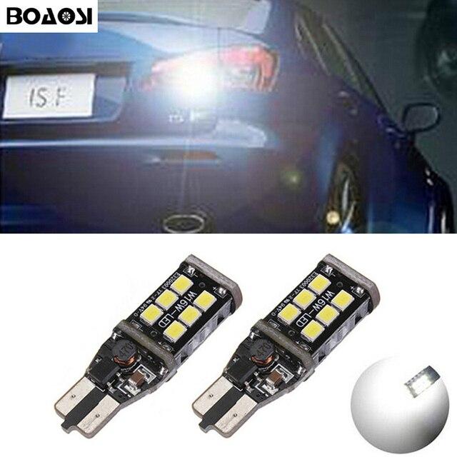 Led Backup Lights >> Us 7 51 33 Off Boaosi 2x Error Free Led T15 Car Led Backup Reverse Lights For Lexus Ct Es Gs Gx Is Is F Ls Lx Sc Rx Is250 Rx300 Is350 Is300 In Car