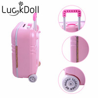 Lucky Doll New Arrivals Luggage For 18 Inch American Girl Doll Best Gift For The Child