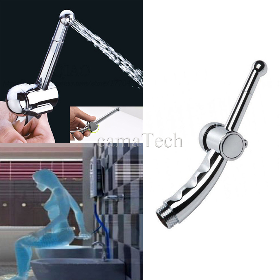 camaTech 7 Holes Cleaning Anal Plug Shower Enema Douche Nozzle Tip Wash Vagina Colonic Cleaner Adjustable Speeds Enemator System