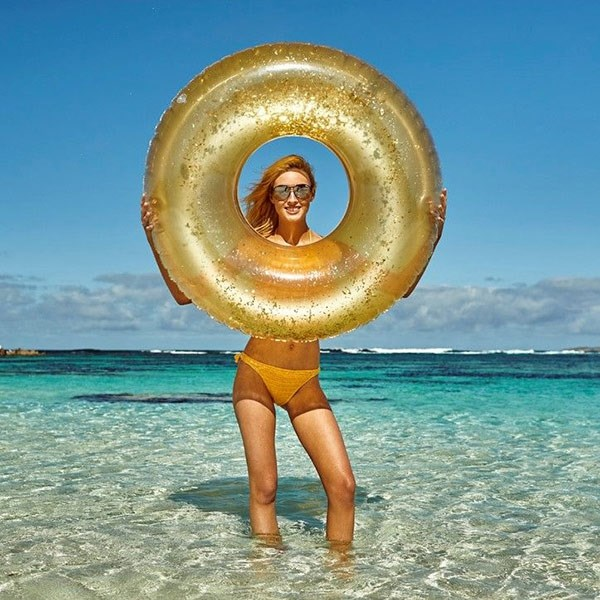 Float Inflatable BRIGHT FASHION SPECIAL SUMMER POOL ADULT BEACH TOWEL