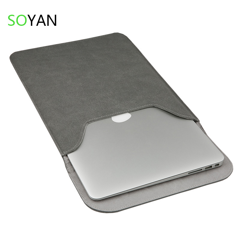 Borsa del computer portatile superficie satinata laptop case Per Apple Macbook Air Pro Retina 12 13 15 Laptop Anti-scratch Copertura Per Mac book 13.3