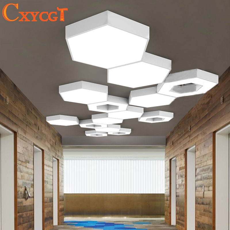 Art Deco Foyer Lighting : Creative led ceiling light for bedroom white kitchen