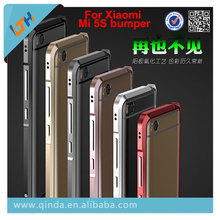For Xiaomi MI5S bumper LUPHIE Design 3D stereoscopic Aluminium Metal bumper for Xiaomi MI 5S 5S plus  free shipping