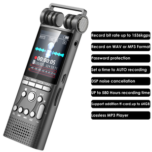 Image 2 - Professional Voice Activated Digital Audio Voice Recorder 16GB USB Pen Non Stop 100hr Recording PCM 1536Kbps,Support TF Card
