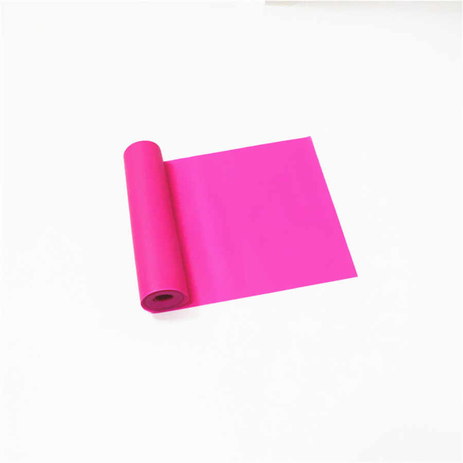 150 cm * 15 cm * 0.35mm 7 kolor jogi elastyczna opaska dla Fitness gumowe zespoły oporu siłownia pilates sport Pull Up wstążka