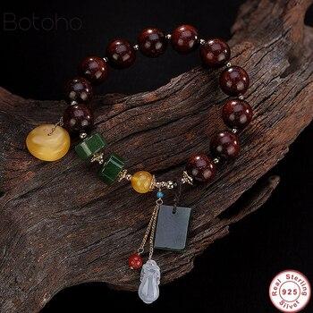 44a9050abe8b MOROW BLANCO CRISTAL Natural redondo Buda cuentas pulseras con Om Mani  Padme Hum moda Simple pulsera mujeres hombres Pulseira nuevo