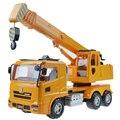 1 Unids de Aleación de Construcción Juguetes Educativos Juguete Modelo de Camión Grúa Grúa Vehículo de Simulación Puzzle Juguetes Para Niños Niños Niño