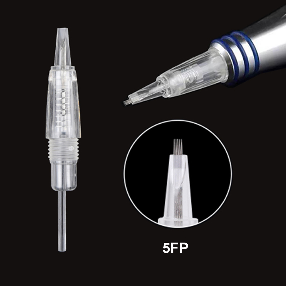 Image 5 - 5pcs/lot Disposable Screw Tattoo Needle Cartridge For Premium Charmant Permanent Tattoo Machine 1P 1D 2P 3P 3FP 5P 5FP 7FP 7P-in Tattoo Needles from Beauty & Health