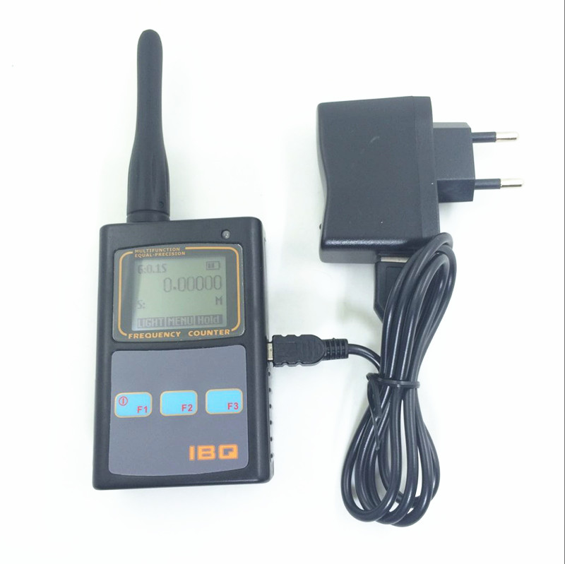 Portable Two-Way Radio Frequency Meter Counter IBQ102 Wide Test Range 10MHz-2.6GHz Sensitive Frequency Analyzer Tester frequency meter counter cymometer antenna analyzer radio new 100