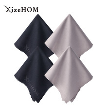 XizeHOM (40*40cm/4pcs) Large Microfiber Cleaning Cloth for All Eyeglasses, Glasses, Camera Lenses, Household Cleaning Tools