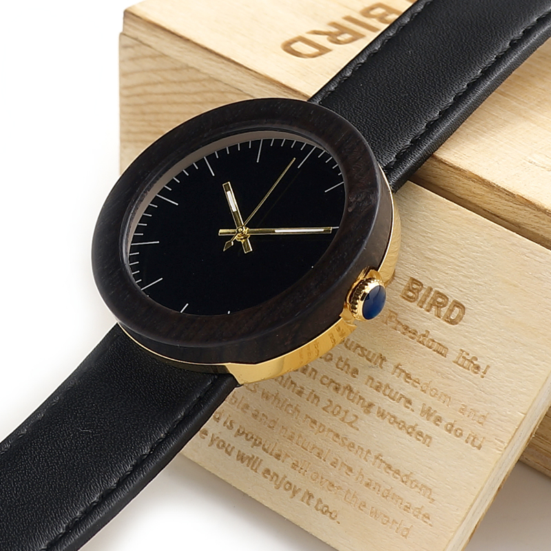 BOBO BIRD Brand 2017 New Watches Women Wood Watches Female Clock Ladies Quartz Watches relogio feminino