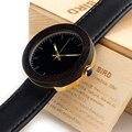 Bobo bird marca 2017 nuevo mujeres de los relojes de madera relojes mujer reloj de cuarzo de las señoras relojes relogio feminino c-j26