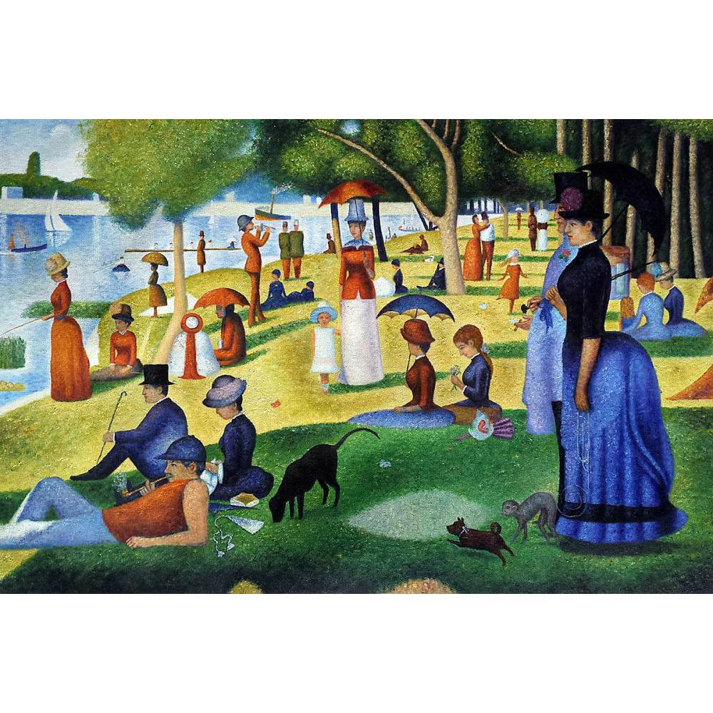 Famous Works Georges Seurat Paintings Of Sunday Afternoon