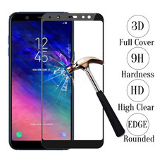 3D protective film for Samsung Galaxy A6 a7 2018 case screen protector for samsung galaxy j6 j4 a5 a8 2018 a3 a5 j5 j7 pro s7(China)