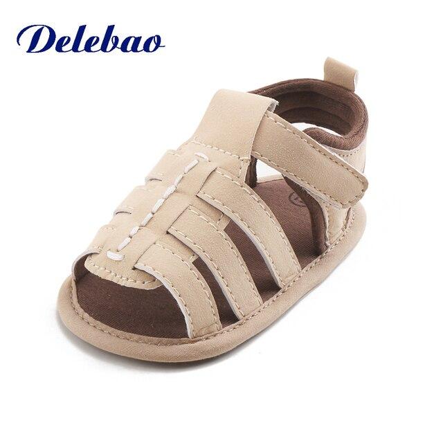 Delebao Desain Baru Coklat Beruang Musim Panas Lucu Sandal Unik Karet  Kualitas Tinggi Bayi Sepatu Bayi e1dda1c26f