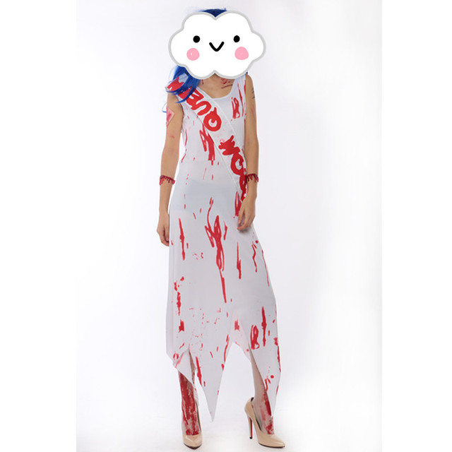 2016 Popular Adults Halloween Clothing Cosplay Scary Ghost