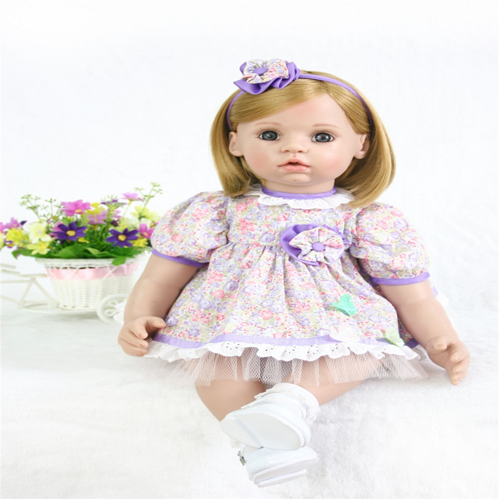 22 inch 55 cm  reborn Silicone dolls, lifelike doll reborn Lovely baby boy and girls holiday gift22 inch 55 cm  reborn Silicone dolls, lifelike doll reborn Lovely baby boy and girls holiday gift