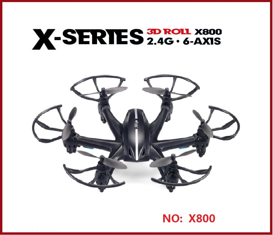 ФОТО MJX R/C Technic X800 2.4G 4CH 6-Axis UAV Quadcopter RTF Drone RC Helicopter with or without C4005 WIFI FPV Camera
