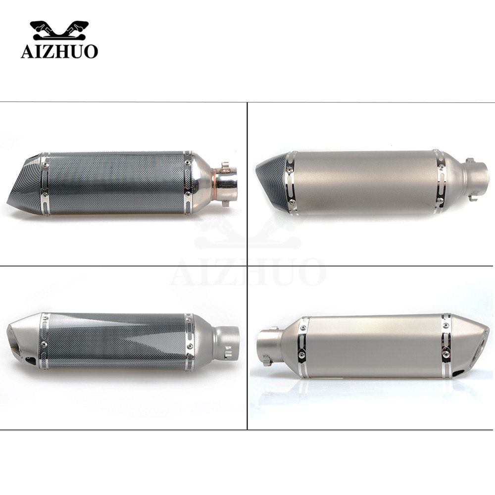 Motorcycle Exhaust pipe Muffler Escape DB-killer 36MM-51MM FOR YAMAHA XV 950 RACER TDM 900 MT-125 MT125 MT-01 YBR 125 YZF R15 free shipping exhaust motorcycle muffler for akrapovic escape moto pitike db killer nmax cb650f ybr 125 sv650 cbr250r ktm