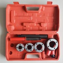 """Нитевдеватель для труб ручной инструмент для нарезания резьбы труб 1/""""& 3/4""""& """"& 1 1/4"""" 4 BSPT для оцинкованной стальной трубы 15-32 мм"""