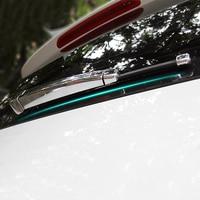 4pcs/set ABS Chrome Rear Window Windscreen Wiper Blade Cover Trim For VW Volkswagen Golf 7 Mk7 2013 2018 car styling