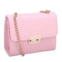 Fashion Summer Women Messenger Bags Crocodile Pattern Leather Handbag Female Small Shoulder Bags Chain Crossbody Bag