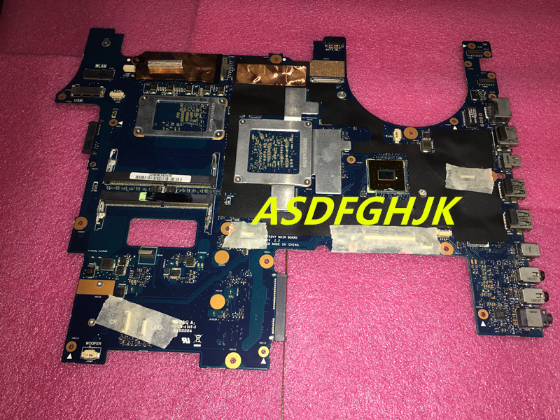 Купить с кэшбэком Main board For Asus G752VY G752VT Laptop Motherboard i7-6700HQ CPU GTX980M 4GB 100% TESED OK