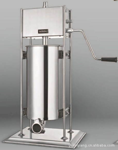 Free shipping 15L Commercial Electric Sausage Stuffer Stainless Steel Vertical Sausage Maker Suasage Filler MachineFree shipping 15L Commercial Electric Sausage Stuffer Stainless Steel Vertical Sausage Maker Suasage Filler Machine