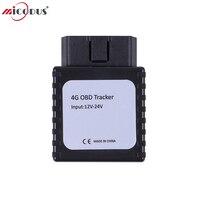 4 г GPS трекер obd Spy GSM устройства слежения 3G Car Locator OBD 2 разъема mp90 в реальном времени 4 г FDD LTE голос Мониторы geo загородка сигнализации