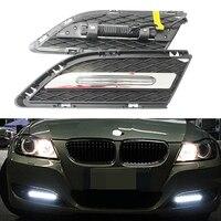 2x Dayline guide technology led daytime running drl light for For BMW E90 LCI Sedan, E91 LCI Touring 07 11 with E4 certification
