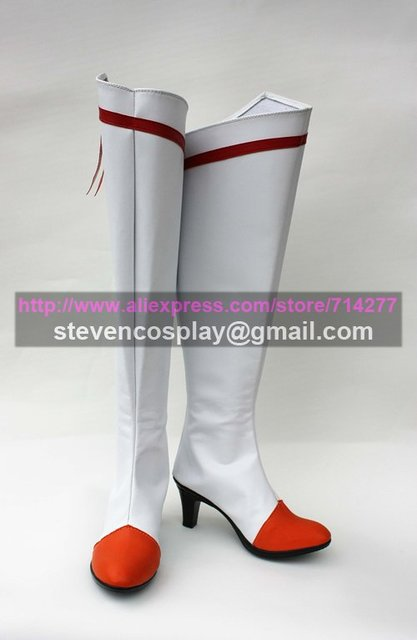 Maßgeschneiderte Günstige Lächeln Pretty Cure Heilung Sunny Cosplay Stiefel Cosplay Schuhe Halloween