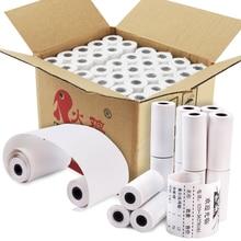 Термобумага квитанция до рулонов 57 мм x 25 мм(60 рулонов/Чехол) для мини мобильного термального POS принтера