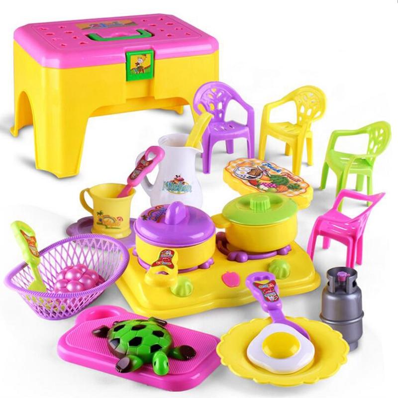 Buy 22 pieces set mini kitchen utensils for Mini kitchen set for kids